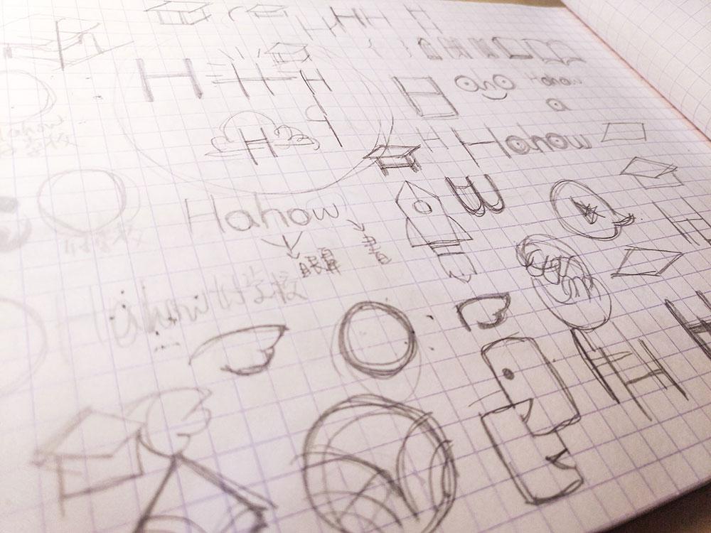 Hahow Logo 發想過程