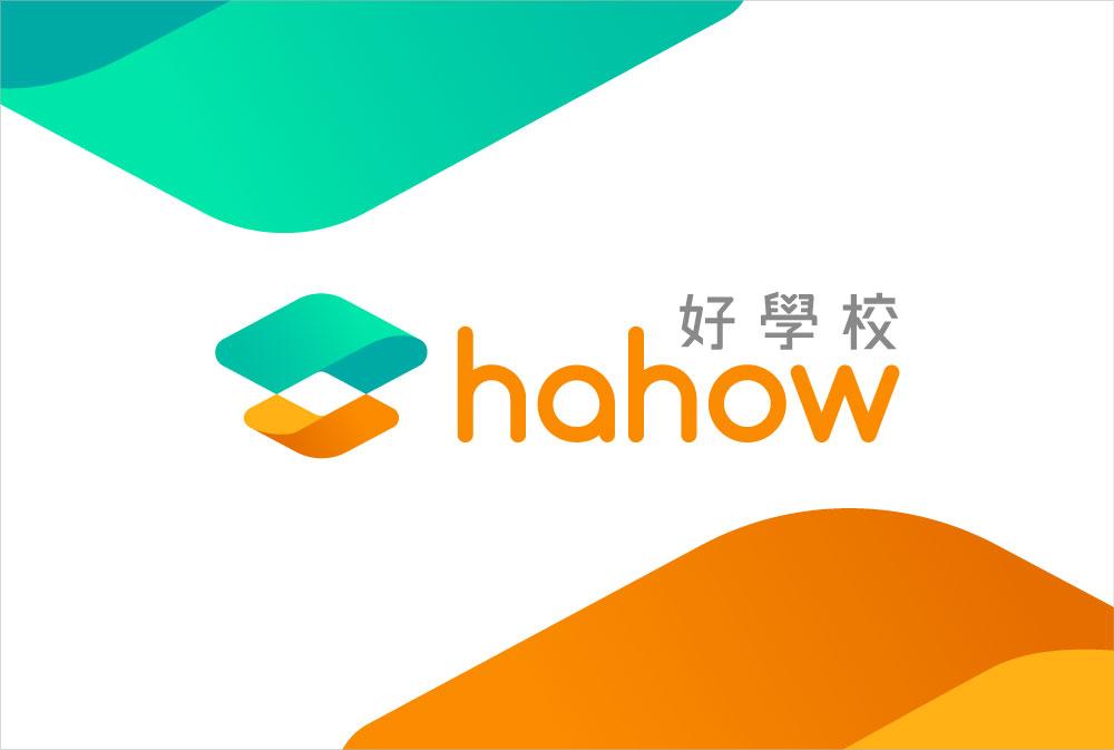 Hahow 新 Logo 示意圖