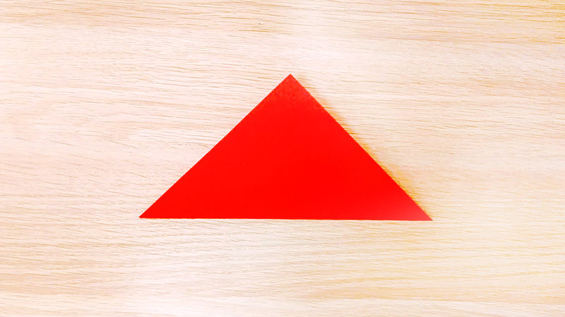 對角線對摺