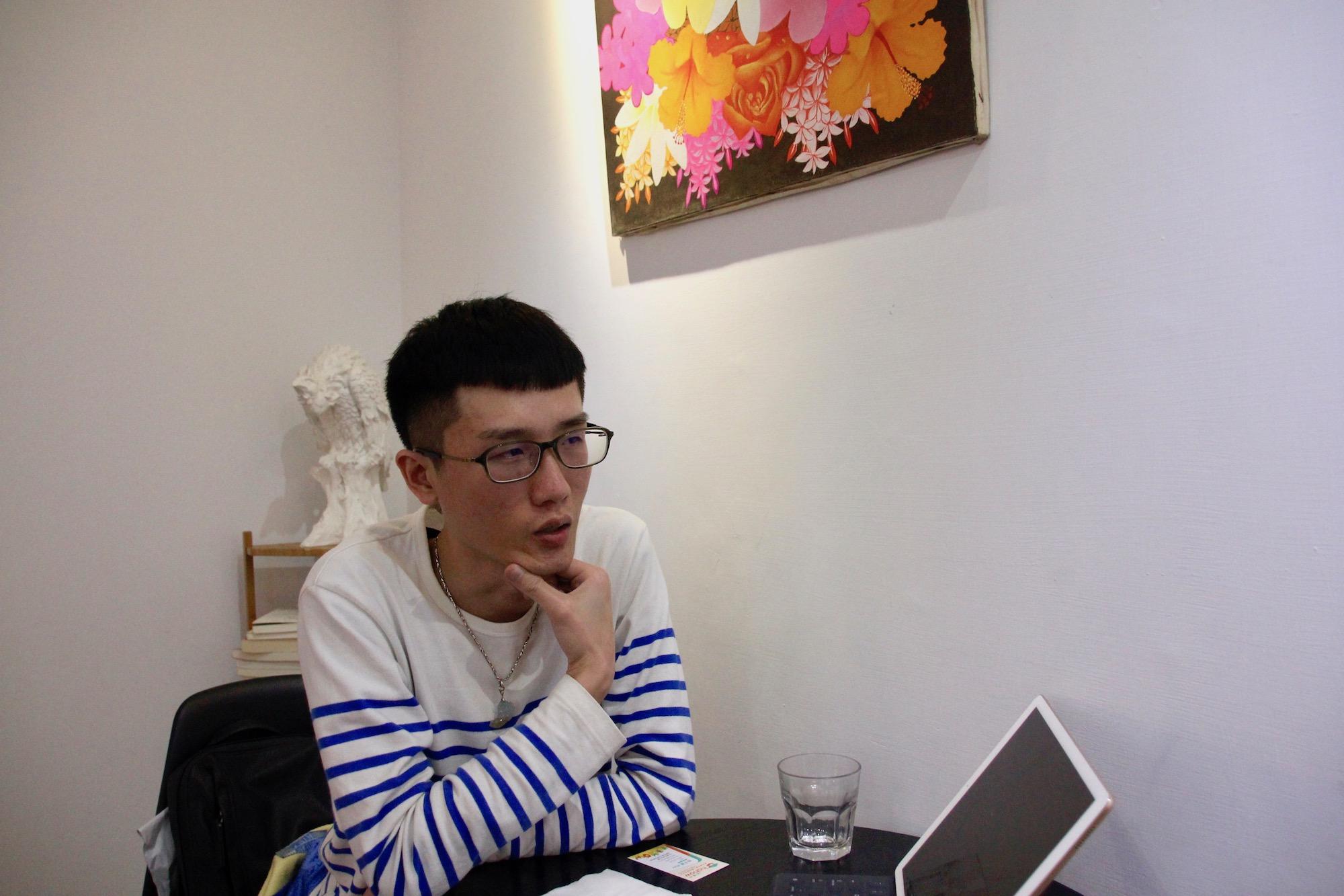 Hahow 專訪黃祺浩