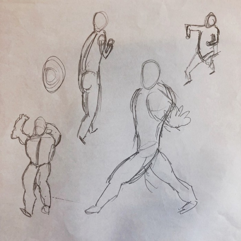 基礎手繪 人體結構比例