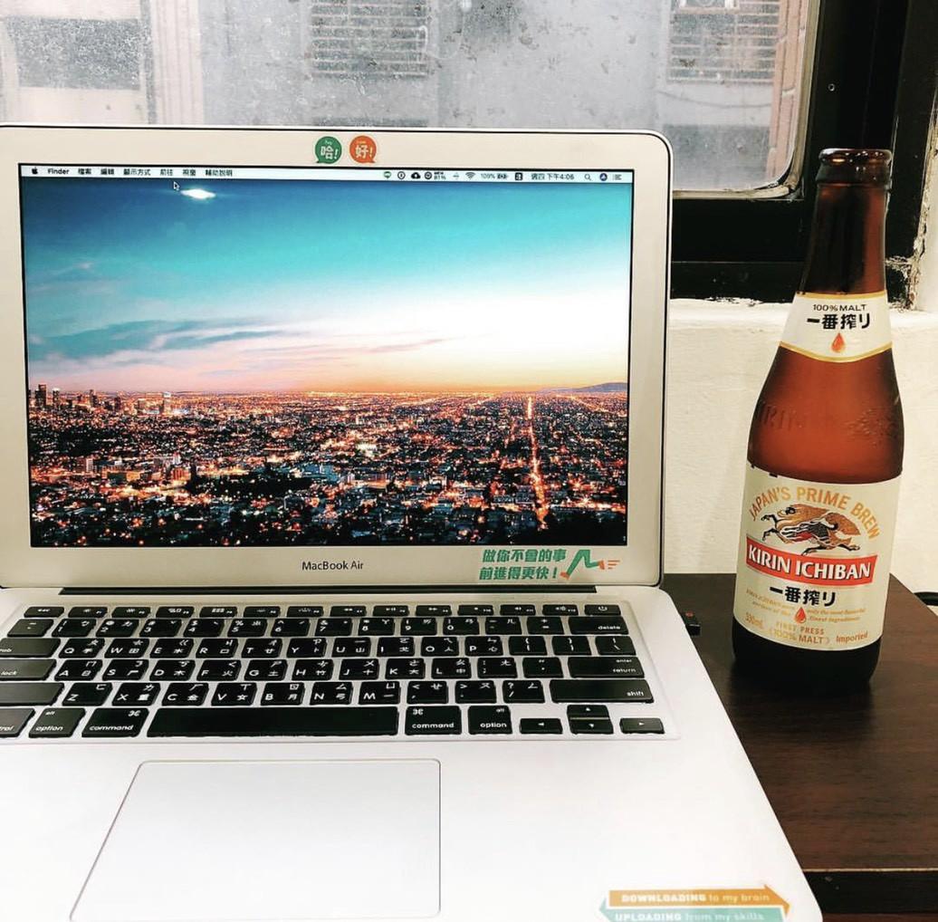 我在 Hahow 的辦公桌