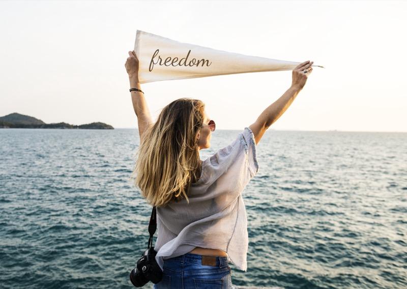 自由的旗幟
